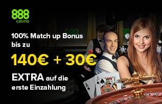 888 Casino 140 Euro Bonus