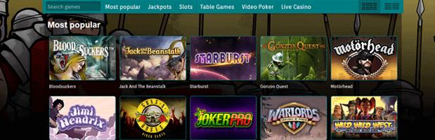 Best Casino Spiele-Angebot