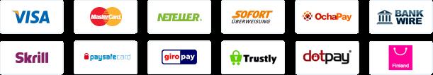 Casilando Zahlungsmethoden