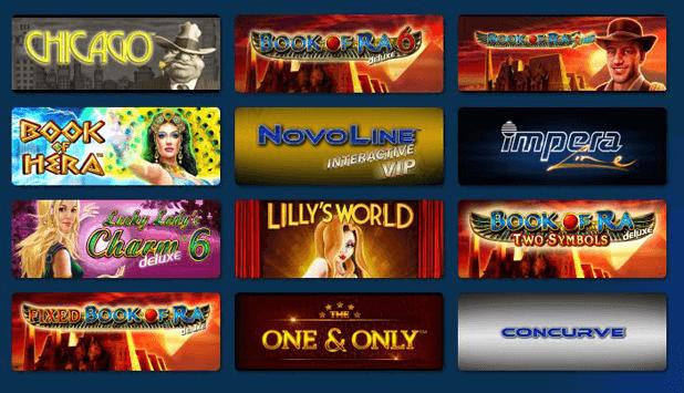 Casino Spiele mit PayPal bezahlen und Novoline spielen