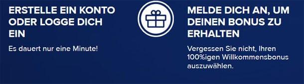 CasinoEuro Boni nach Anmeldung kassieren