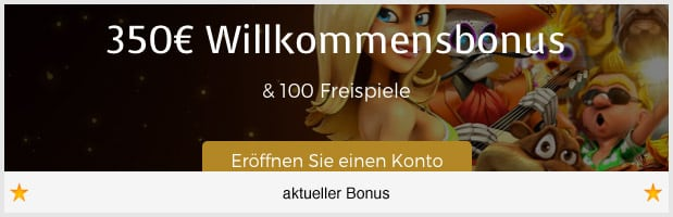 Casino Extra Bonus: 350 Euro + 100 Freispiele