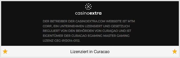 Casino Extra Lizenz