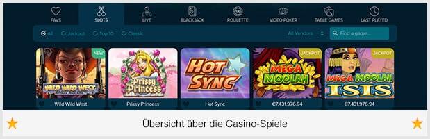Casino Land Spiele