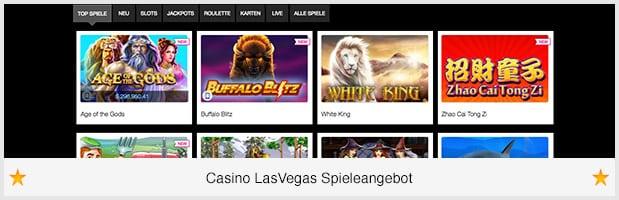 Casinos LasVegas Spieleangebot