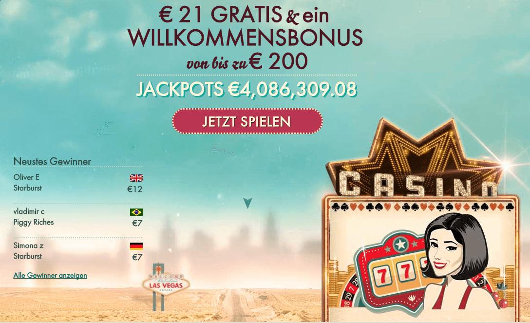 Die Zahlung per Kreditkarte ist auch im 777 Casino möglich