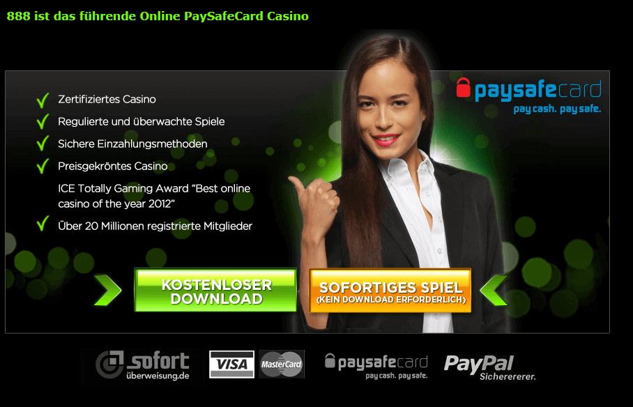 Im Casino mit Paysafecard bezahlen geht seriös und schnell