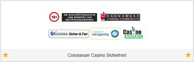 Colosseum Casino Lizenz