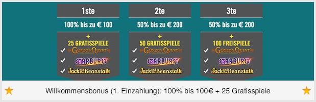 Drückglück Casino Bonus Code