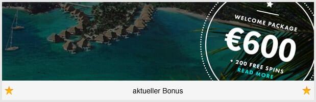 Dunder Casino Bonus: 600 Euro und 200 Freispiele für neue Kunden