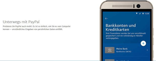 PayPal zum Bezahlen mobil oder am heimischen PC nutzen