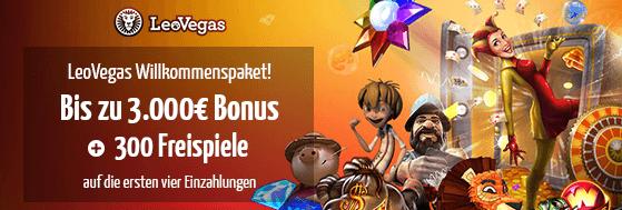 LeoVegas Casino Bonuscode
