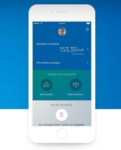 PayPal kann von zu Hause oder mobil genutzt werden