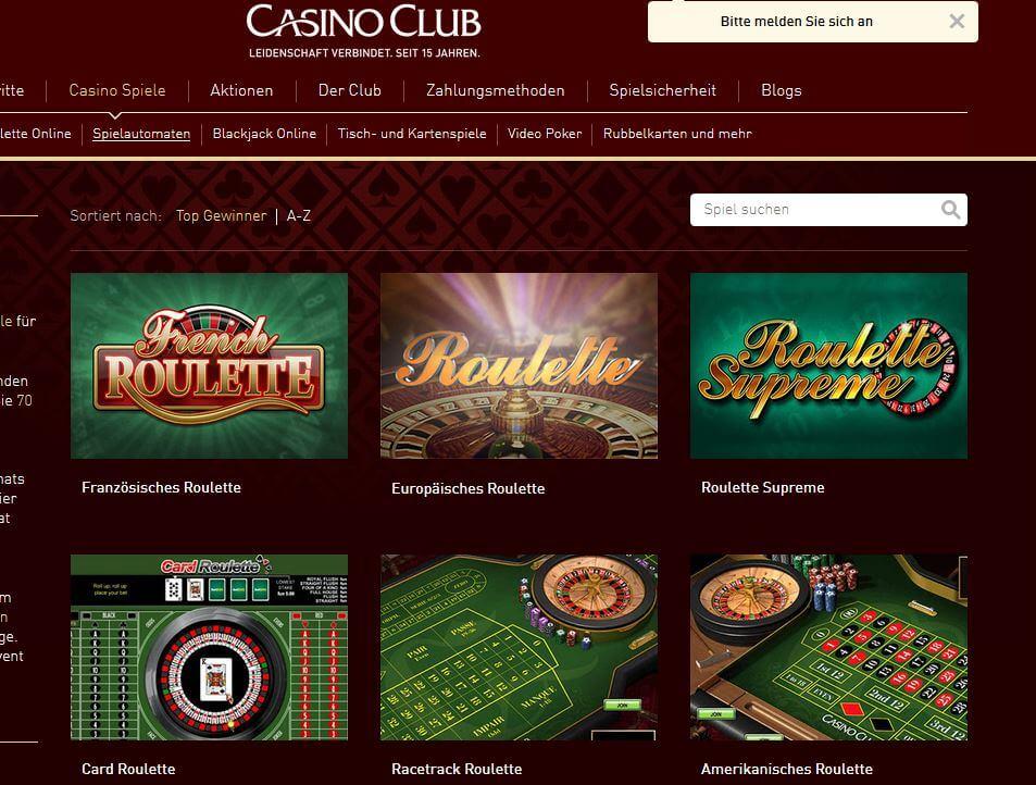Novoline Roulette spielen: Roulette-Vielfalt bei CasinoClub.