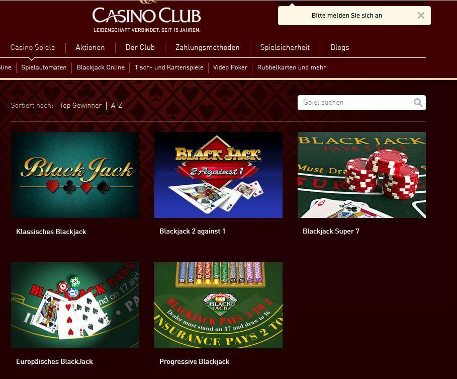 Online Casino mit BlackJack: Gleich mehreren kostenlose Varianten.
