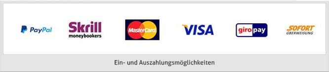 onlinecasino.de Ein-Auszahlung