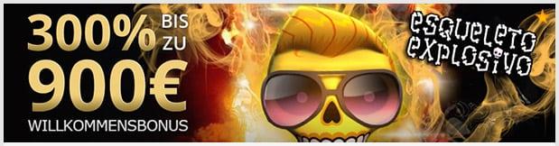 Osiris Casino Bonus: 300% bis 900€ Willkommensbonus für neue Kunden