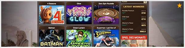 Osiris Casino Erfahungen positiv mit Spielangebot