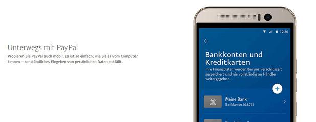 PayPal kann am PC und mobil genutzt werden