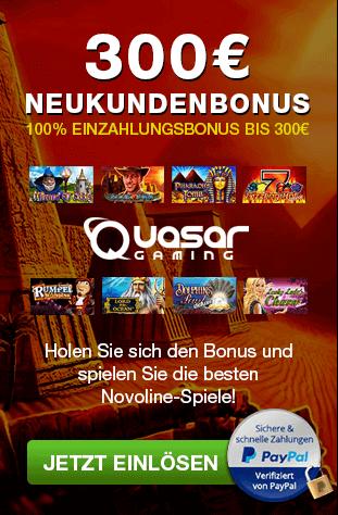Novoline Casino - 300€ Gratis Guthaben