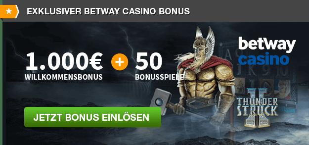 Betway Casino Bonuses & Codes June