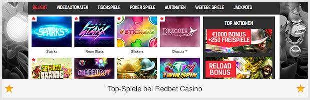 Redbet_Casino_Spiele