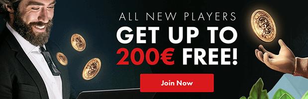 Roy Richie Casino: Bis zu 200 Euro für Neukunden