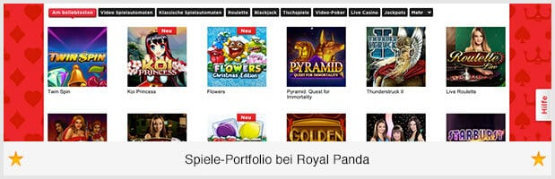 RoyalPanda_spiele