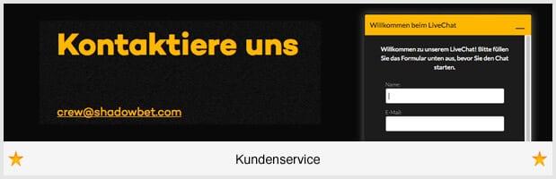 ShadowBet Kundenservice