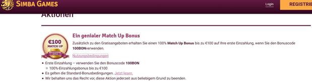Neukunden erhalten bis 100 Euro