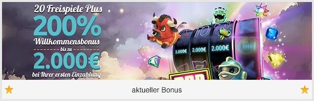 SpinStation Casino Bonus: 2.000 Euro + 20 Freispiele bei erster Einzahlung