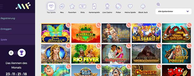 Alf Casino Spiele