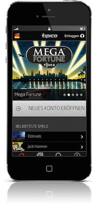 Tipico Casino App für iPhone & Android
