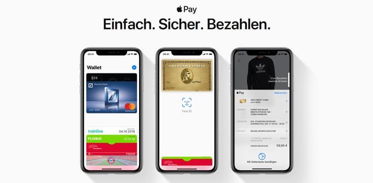 Apple Pay ist seit Dezember 2018 auch in Deutschland nutzbar
