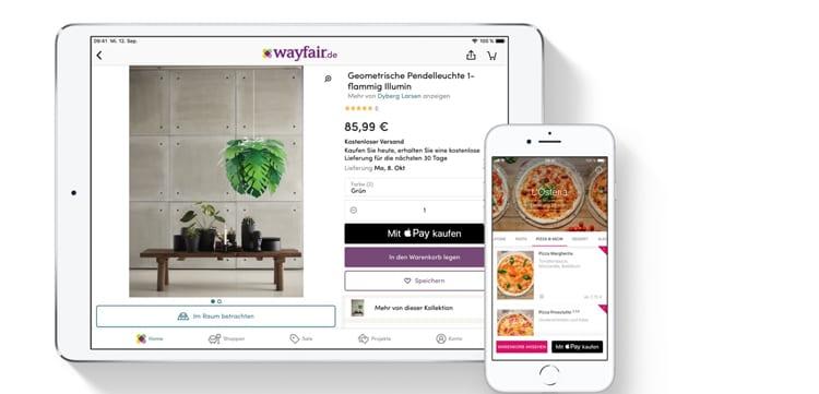 Apple Pay wird inzwischen auf vielen Plattformen als Zahlungsart anerkannt