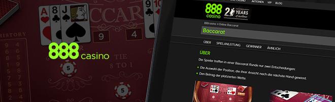 888Casino Baccarat PayPal
