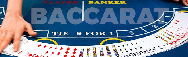 Baccarat Tisch