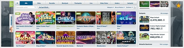 bet at home casino bewertung