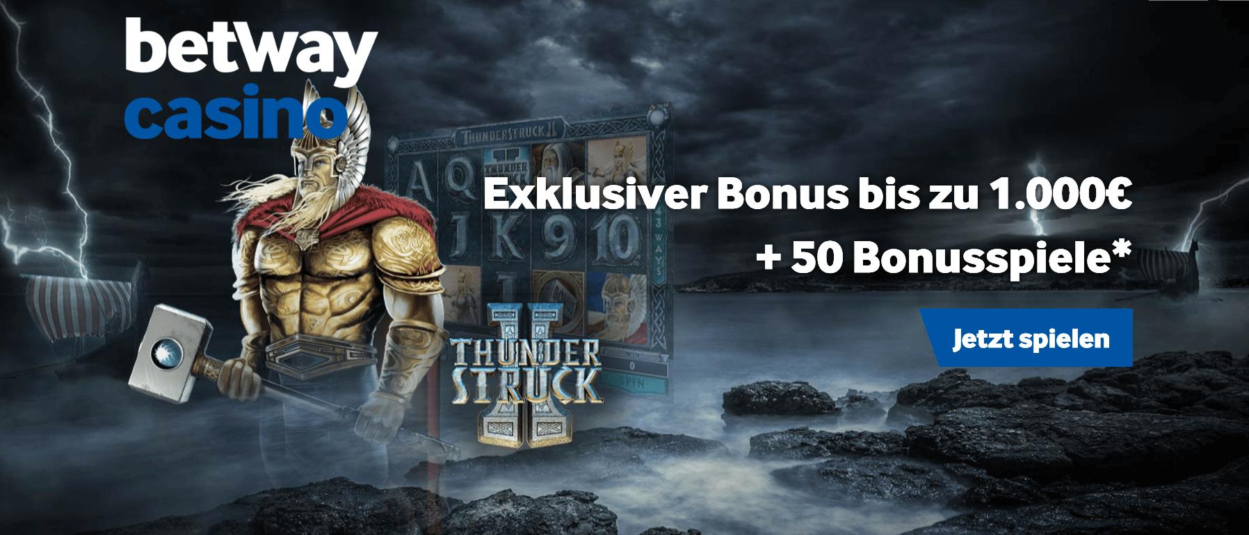 betway mit Thunderstruck Bonus