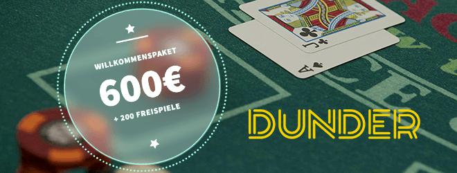 Blackjack Dunder Casino