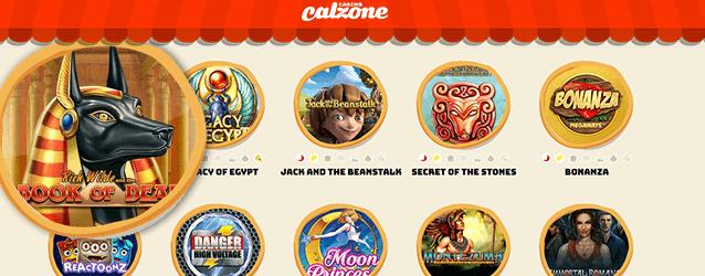 Casino Calzone Spiele