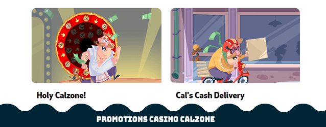 Casino Calzone Promotionen