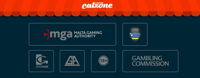 Casino Calzone Lizenz