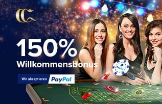 Casino Club 150 Euro Bonus