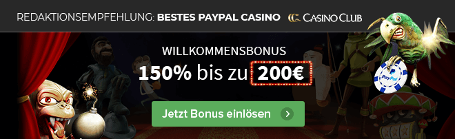 Casino Club Content PayPal