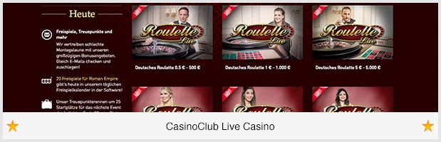 casino club werbecode