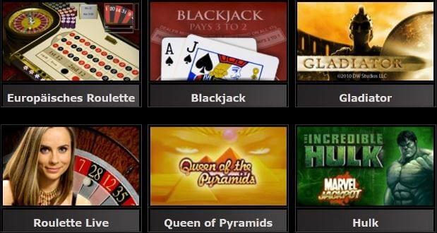 casinocom Spiele