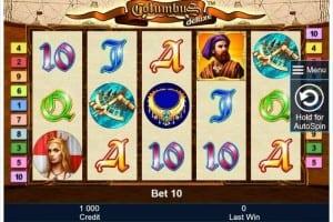 Columbus Deluxe Bonus ohne Einzahlung