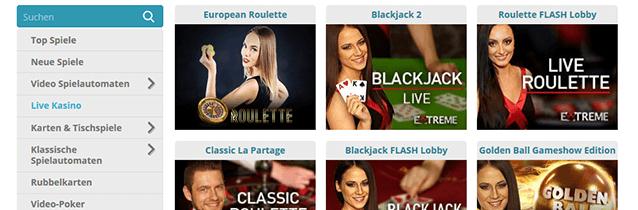 Cozyno Live Casino