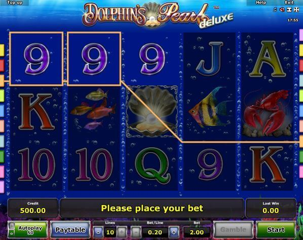Dolphin's Pearl Bonus ohne Einzahlung bei Rivo Casino